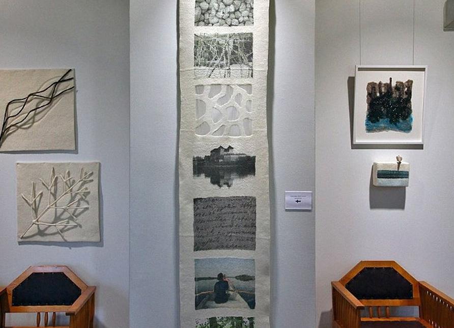 Pohjoinen maisema -näyttelytila