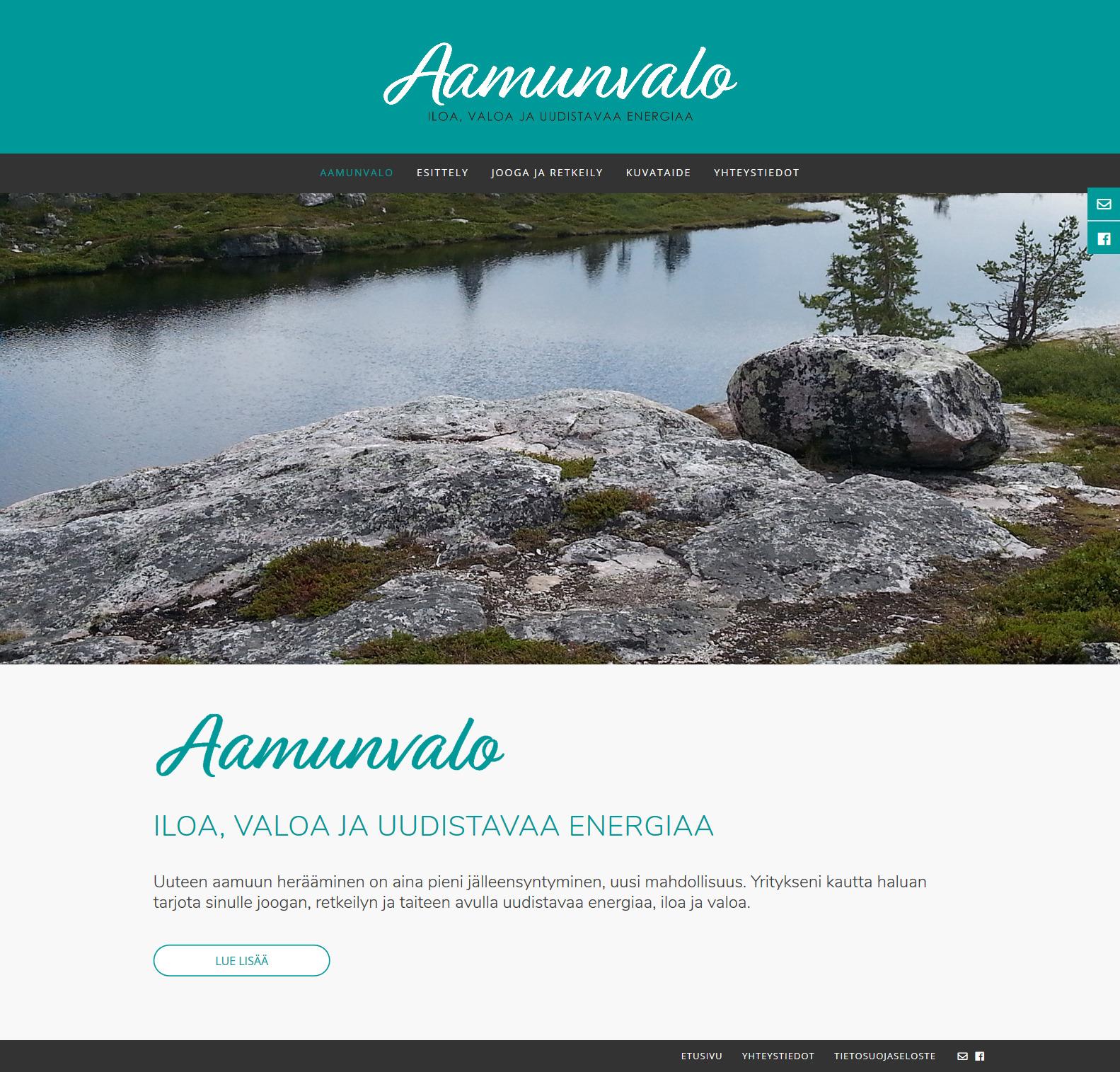 Materia ry, kotisivut  | suunnittelu ja toteutus Anne-Mari