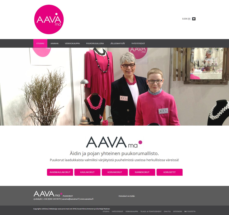 www.aavama.fi -verkkokauppa