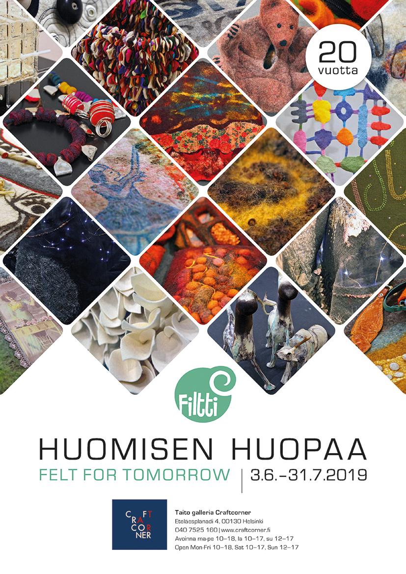 Huomisen huopaa -näyttely Helsingissä
