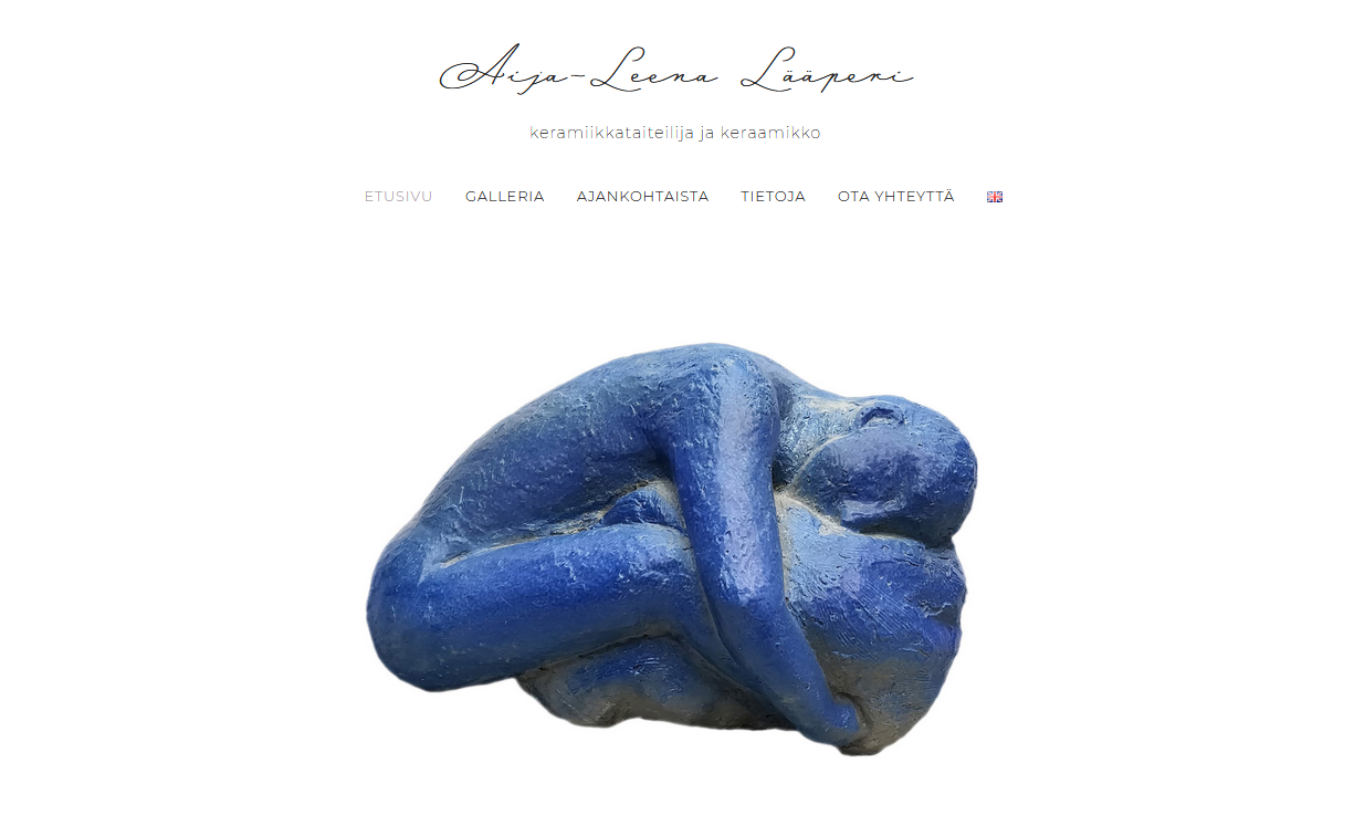 Keramiikkataiteilija Aija-Leena Lääperin nettisivut