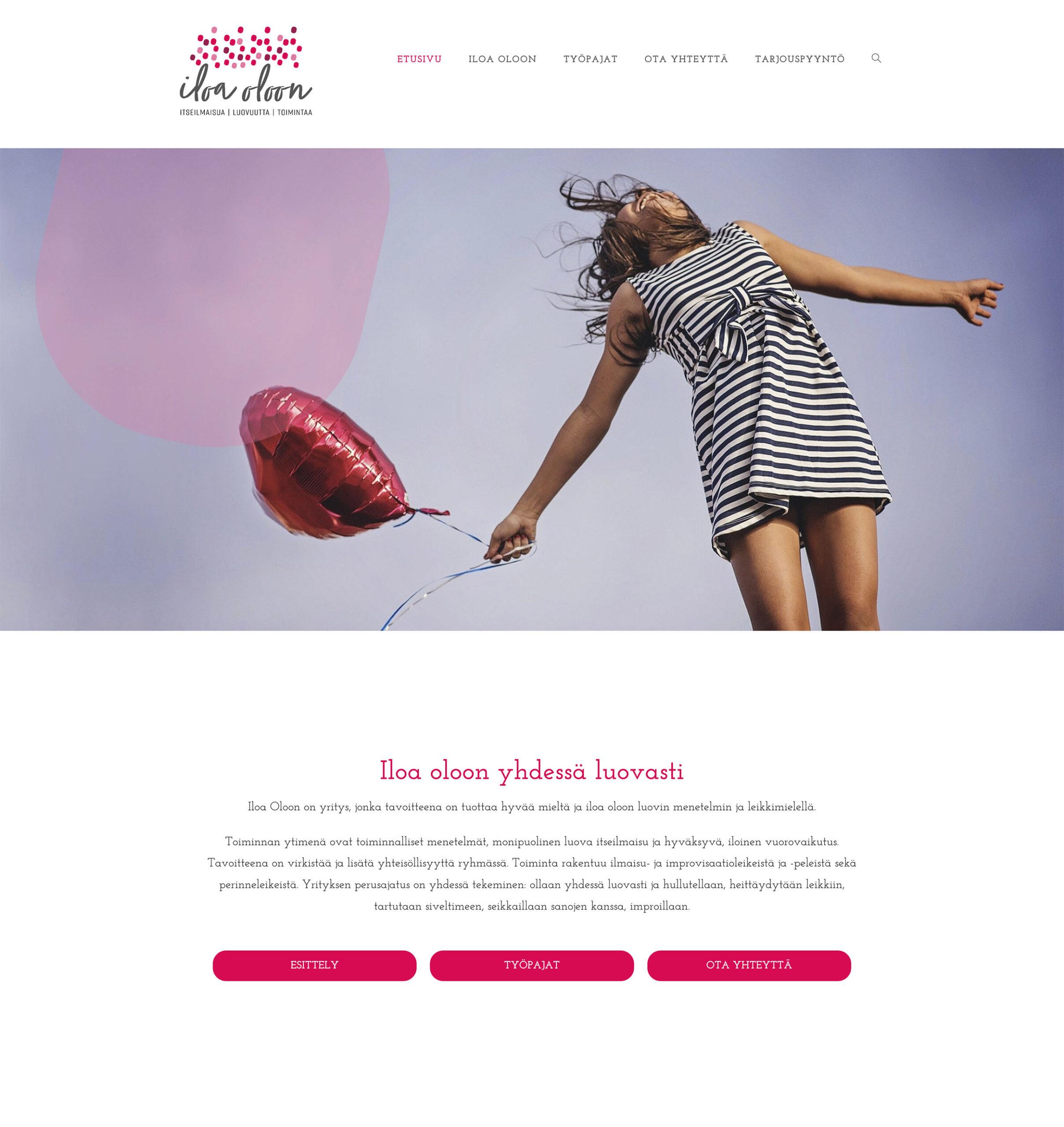 www.iloaoloon.fi-nettisivut