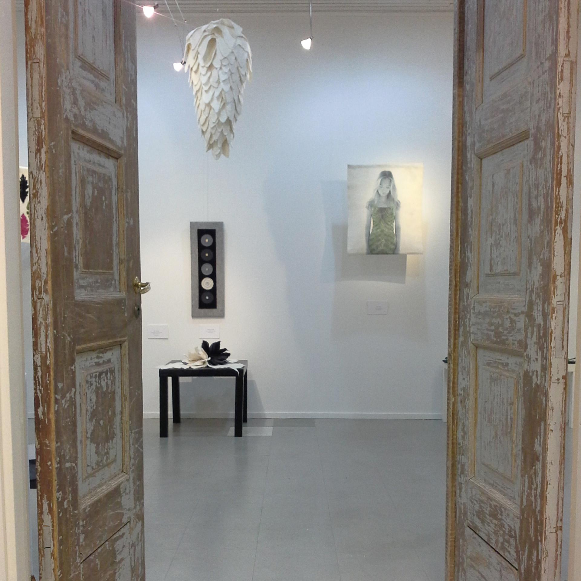 Galleria Sará, Laukaa, huopanäyttely